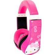 Sakar  Kids Safe Kids Friendly Over-the-Head Stereo Headphone, Pink