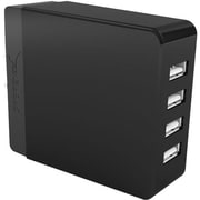 Sabrent™ 4 Port USB Wall Charger, Black (AX-U4PB)