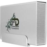 Fantom GD4000QU3 Quad External Hard Drive, 4TB, FireWire 800, FireWire 400, eSATA, USB 3.0, Silver