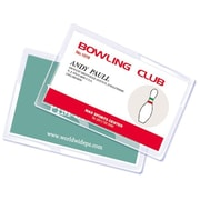 Royal Sovereign  5 mil Thermal Laminating Pouch Film, Credit Card, 100/Pack (RF05CRDT0100)