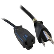 COMPREHENSIVE CABLE 6' Universal AC Power Extension Cord, Black (ACP-BK16-6)