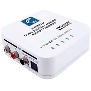 Comprehensive CCN-ADDA Universal Digital to Analog\/Analog to Digital Audio Converter, White