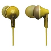 Panasonic RP-HJE125-Y Stereo Ergo Fit Earphone, Yellow