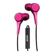 Maxell  Jinx In-Ear Stereo Earset with On-Cable Microphone, Pink