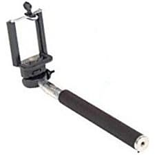 Worryfree Gadgets (MONOPOD-BLACK) Myepads Selfie Stick, Portable, Black