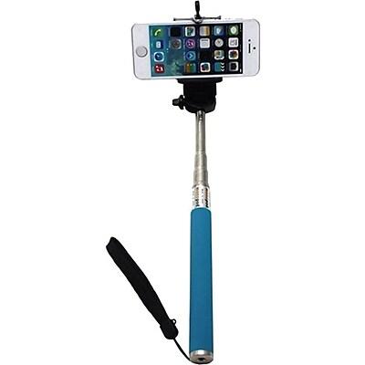 Worryfree Gadgets Myepads Selfie Stick, (MONOPOD-BLUE) , Portable, Blue