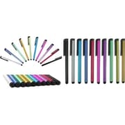 Worryfree Gadgets  Myepads 9PK-STY Stylus Pen for Cell Phone/Tablet, Assorted, 9/Pack