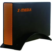 "Premiertek X-Media External 3 1/2"" USB 3.0 to SATA HDD Enclosure, Black (XM-EN3251U3-BK)"