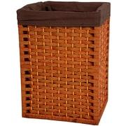 Oriental Furniture 17'' Natural Fiber Basket in Honey