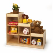 Whitney Bros. Pyramid 6 Compartment Cubby