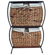 Pangaea Seagrass Basket Storage Pangaea Rattan 2 Drawer File Cabinet