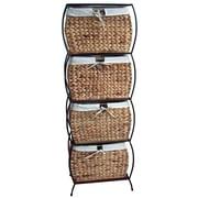 Pangaea Seagrass Basket Storage Pangaea Rattan 4 Drawer File Cabinet