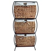 Pangaea Seagrass Basket Storage Pangaea Rattan 3 Drawer File Cabinet