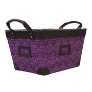 Casual Home Small Storage Basket; Plum Regal