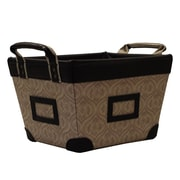 Casual Home Small Storage Basket; Desert Print
