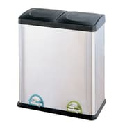 OIA 15.85 Gal. Step-On Multi Compartment Recycling Bin