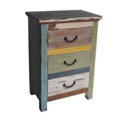 Cheungs Wooden Chest with 3 Drawers