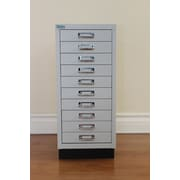 Ceha North America Storage Cabinet; Gray and Black