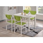 InRoom Designs Dining Table; White