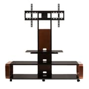 Hokku Designs Multi-Function 3-in-1 TV Stand; Brown