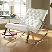 Modway Canoo Rocking Chair; White