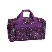 Rockland 19'' Carry-On Duffel; Purple