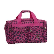 Rockland 19'' Carry-On Duffel; Magenta