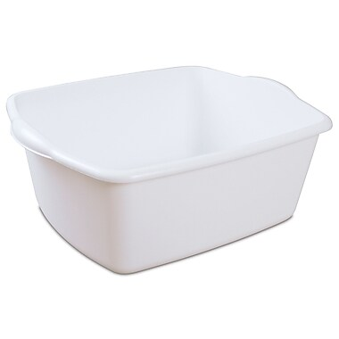 Sterilite – Panier à vaisselle 14009, 18 pintes/17 litres, 17 1/2 x 14 1/4 x 7 (po), blanc, paq./12