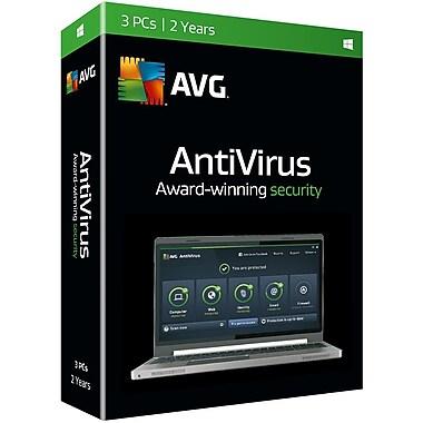 Avg Antivirus 2016, 3-User, 2 Year [Download]