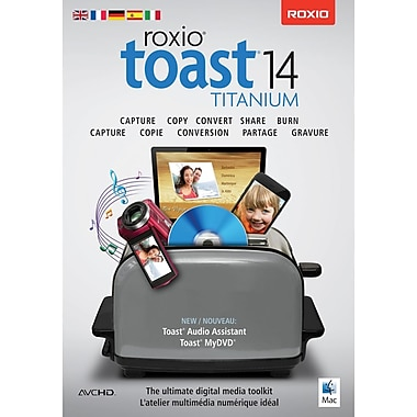 Roxio – Logiciel Toast 14 Titanium pour Mac
