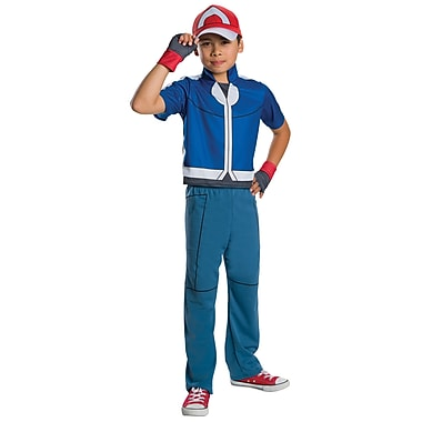 Pokémon – Costume de luxe d'Ash, grand