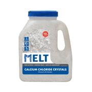 Snow Joe MELT Calcium Chloride Crystals Ice Melter, 10 Lb. Jug (MELT10CC-J)