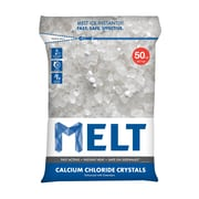 Snow Joe MELT Calcium Chloride Crystals Ice Melter, 50 Lb. Bag (MELT50CC)