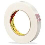 """3M Scotch 897 Filament Tape, 0.7"""" Width, 55 M Length, 3"""" Core"""