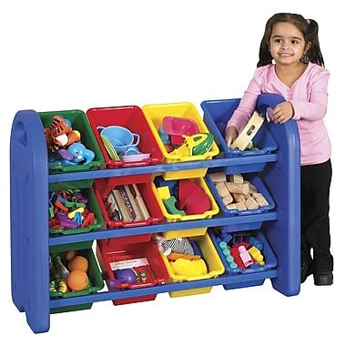 ECR4Kids® 3-Tier Storage Organizer with Bins