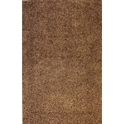 Well Woven Madison Shag Coffee Bean Plain Area Rug; 3'3'' x 5'3''