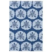 Kaleen Matira Hand-Tufted Blue Indoor/Outdoor Area Rug; 3' x 5'
