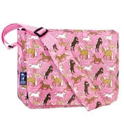 Wildkin Horses in Pink Kickstart Messenger Bag