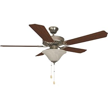 Bala Bala Dual Mount Fan; Brushed Pewter