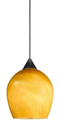 Cal Lighting LED 1 Light Mini Pendant; Dark Bronze WYF078276431870