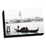 Picture it on Canvas Anaglyph Gondola 3D Photographic Print on Wrapped Canvas