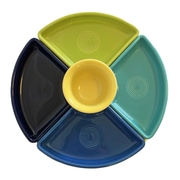 Fiesta 5 Piece Bowl Set; Cobalt/Turquoise/Lemongrass/Lapis/Sunflower