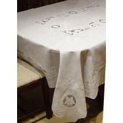 Fino Lino Penelope Floral Tablecloth & Napkin Set; 208'' x 70''