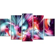 DesignArt Take Me Over 5 Piece Graphic Art on Gallery Wrapped Canvas Set