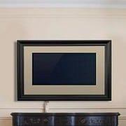 LCD Fashion Medium Universal TV Frame; Black