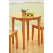 InRoom Designs Round Dining Table; Natural