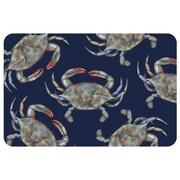 Bungalow Flooring Surfaces Crabs Doormat; 1'11'' x 3'
