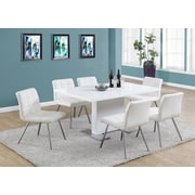 Monarch Specialties Inc. Dining Table; White