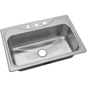 Sterling by Kohler Southhaven  33'' x 22'' X Single Basin Sink Kitchen Sink