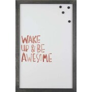 Petal Lane Watercolor Wake Magnetic Board; 2' 8'' H x 2' W